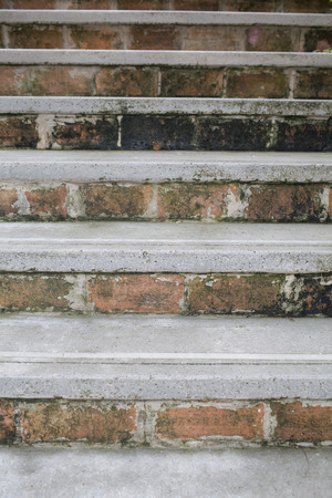 Background of the old stairs photo