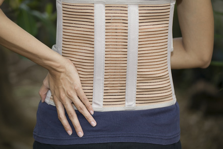 Back support for muscle back photo