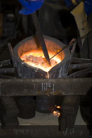 metal casting photo