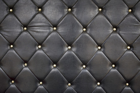 upholstery: Black Leather Upholstery Background