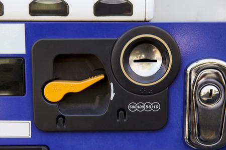 vend: close up of vending machine