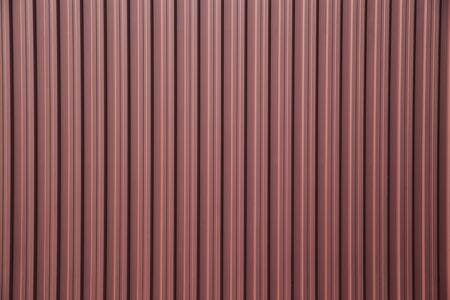 corrugation: corrugated metal fence as a background