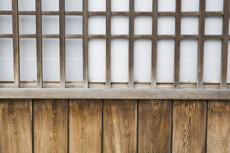 sliding: Japanese sliding paper door background