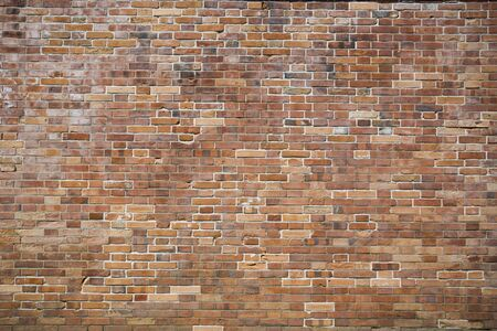 bricks background: Modern brown bricks wall pattern, background