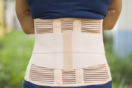 velcro: Back support for muscle back