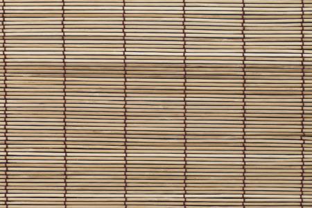 bambu: Textura de la estera de bambú