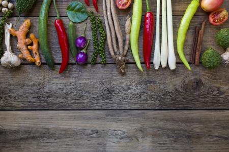 chili: Thai food ingredients, vegetable, spicy taste Stock Photo
