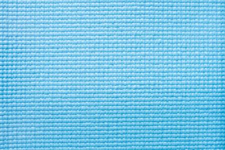 Blaue Yoga-Matte Textur Hintergrund