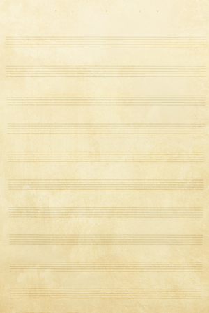 sheet music: Old music sheet background and texture