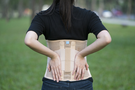 posture correction: Back support for muscle back