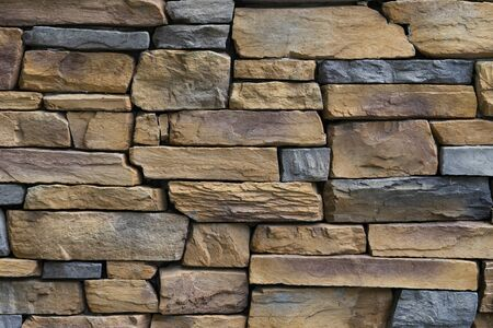 stone wall texture and background, close up