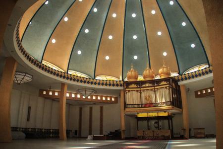 Nairobi, Kenya - January 17, 2015: inside the Sith temple in Nairobi