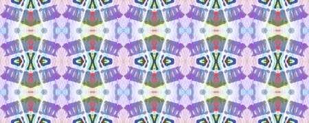 Aztec Rugs. Abstract Ikat Design. Repeat Tie Dye Illustration. Ikat Islamic Design. Blue, Green, Indigo, Denim Seamless Texture. Tribal Aztec Rug Pattern. 版權商用圖片