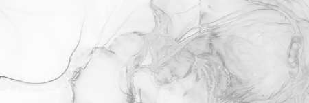 Fashion Wallpaper. Wedding Texture. Alcohol Ink Design. Light Grey Fashion Wallpaper. Fluid Splash. Creativity Swirl. Aquarelle Paint. Light Grey Effect. Stock fotó