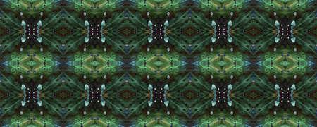 Boho Textures. Neon Textile Print. Traditional Backdrop.  Colorful Natural Ethnic Illustration. Seamless Boho Textures.