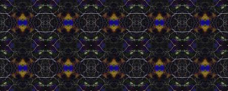 Aztec Rugs. Seamless Tie Dye Ornament. Ikat Japanese Design. Luminous Neon Seamless Texture. Abstract Shibori Motif. Tribal Aztec Rug Pattern.