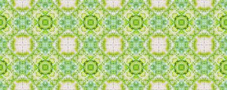 Boho Fabric. Repeatably Tie Dye Ornament. Ikat Persian Print. Orange Texture. Abstract Ikat Design. Ethnic Tribal Boho Fabric Pattern. Stock fotó