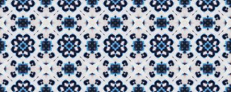 Batik Silk Illustration. Tribal Backdrop.  Multicolor Natural Ethnic Illustration. Indigo and Black Textile Print. Watercolor Batik Silk Illustration.