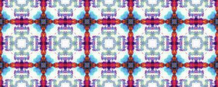 Aztec Rugs. Abstract Ikat Design. Blue, White, Indigo, Denim Seamless Texture. Seamless Tie Dye Rapport. Ikat Mexican Design. Tribal Aztec Rug Pattern.