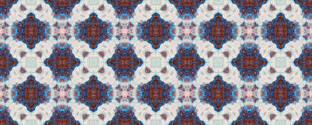 Batik Multicolor Design.  Traditional Backdrop.  Colorful Natural Ethnic Illustration. Indigo and Black Textile Print. Shibori or Batik Multicolor Textile Design. Stock fotó