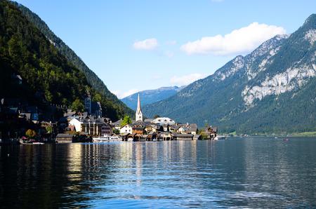 Hallstatt, Beautiful Lake in Austrian Alps