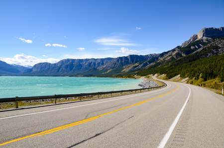 abraham: Abraham Lake inAutumn, Canadian Rockies