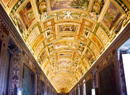 Galleria delle carte geografiche (Gallery of Maps), Vatican Museums, Vatican City