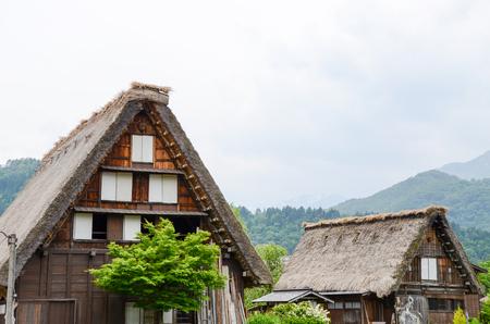 世界遺産・春の白川郷(岐阜県) Shirakawa-go in the Spring, UNESCO World Heritage Sites, Japan