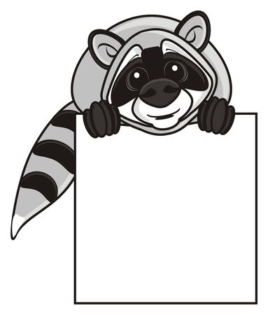 empty plate: raccoon sits on top of an empty plate