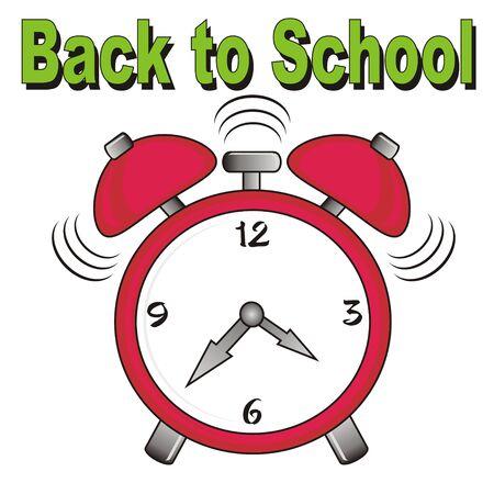 back to school and alarm clock calls
