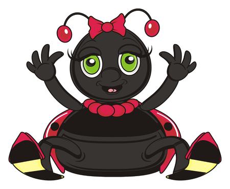 ladybug: happy ladybug