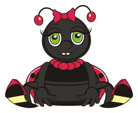 toothy: toothy ladybug