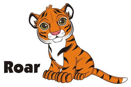 say: tiger say roar