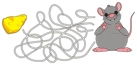 squeak: fat rat with labyrinth