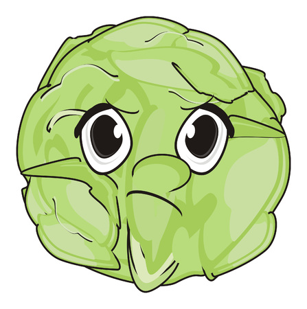 evil face of cabbage