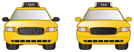Two different taxi cars- find a differents