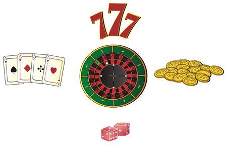 Five symbols of casino