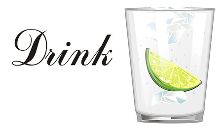 tonic: Drink gin tonic Stock Photo