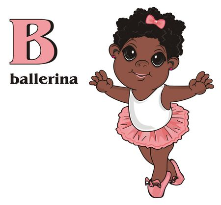 Afro fairy with abc