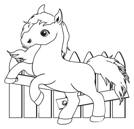 Großzügig Pferd Färbendes Bild Fotos - Beispielzusammenfassung Ideen ...