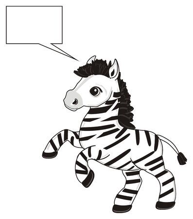 callout: Zebra and clean callout