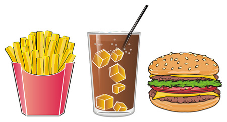 Drink with fast food