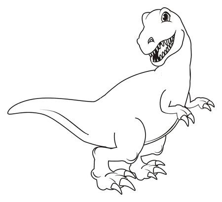Charmant T Rex Dinosaurier Färbung Seite Fotos - Beispiel Business ...