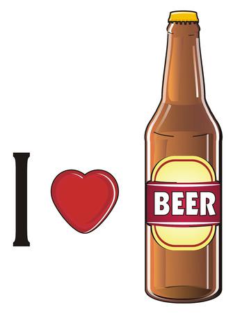 bottle of beer Banco de Imagens
