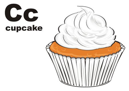 cupcake and abc