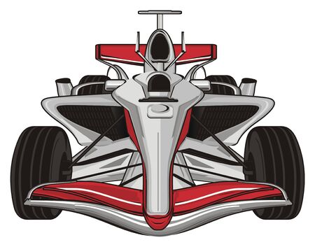 red formula one