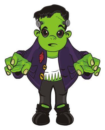 surprise Frankenstein stand