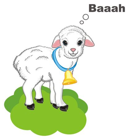 lamb stay and say baaah