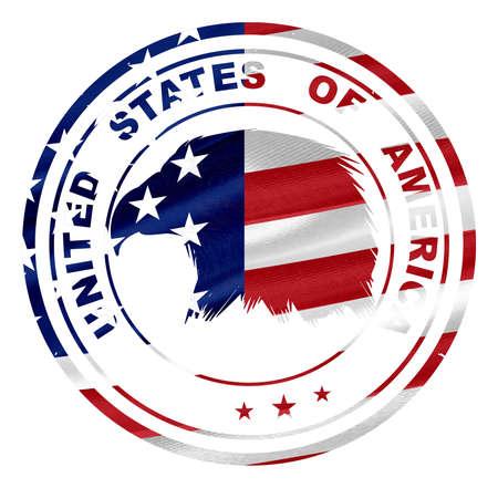 stamp of USA