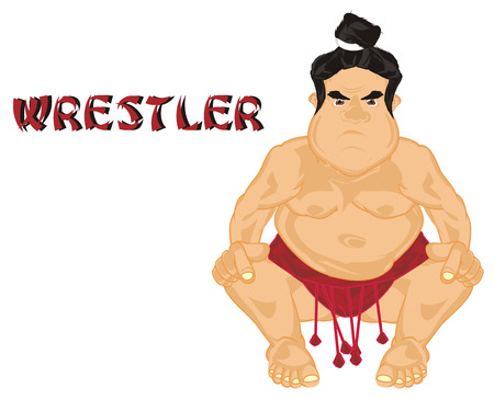 sumo wrestler and his name